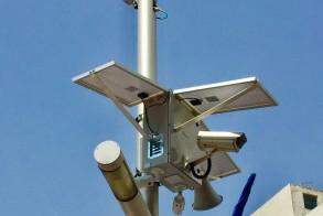 """מצלמת מעקב וקריזה סולארית למתחם הבורסה ר""""ג"""