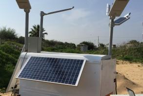 Solar Light Post - Mobile