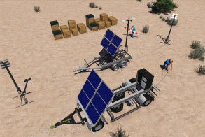 Integrated Mobile Power Station