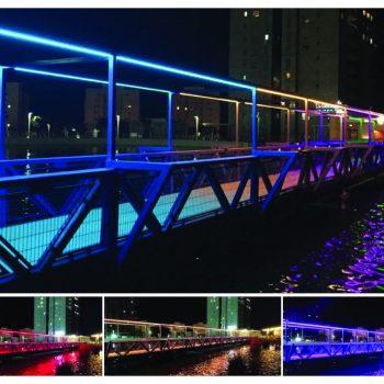 גשר האורות - פארק אשדוד